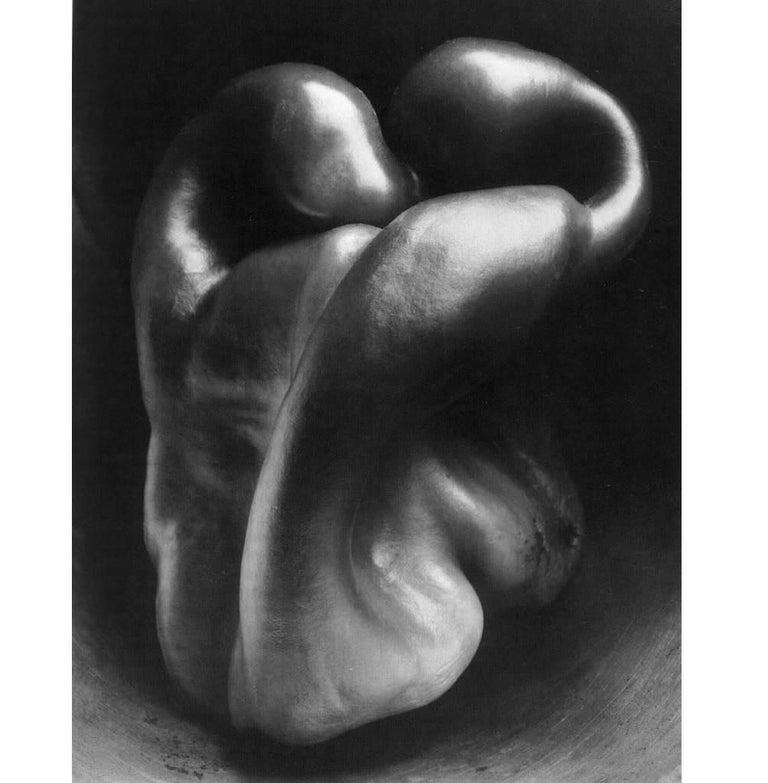 Edward Weston Black and White Photograph - Pepper ~ 30P