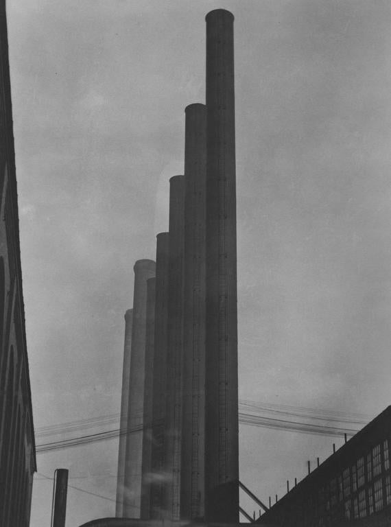 Edward Weston Black and White Photograph - Armco Steel, Ohio, 1922 (1M)