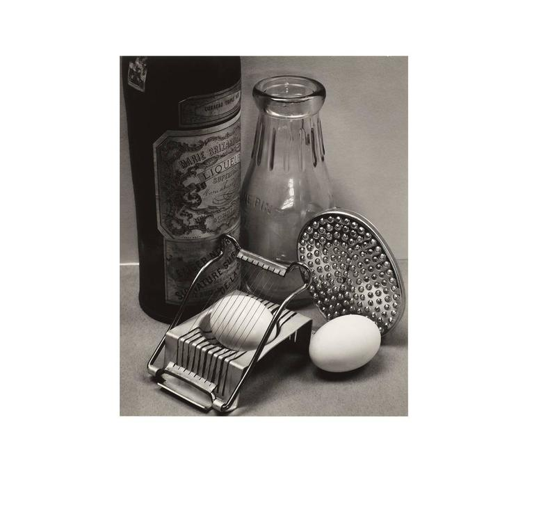 Ansel Adams Black and White Photograph - Still Life with Egg Slicer, San Francisco