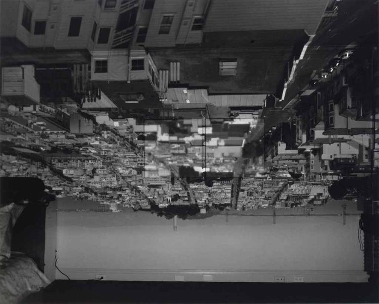 Abelardo Morell Black and White Photograph - Camara Obscura, San Francisco, Looking East.