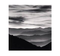 Distant Mountains, Passo delle Capannelle l Aquila, Abruzzo, Italy