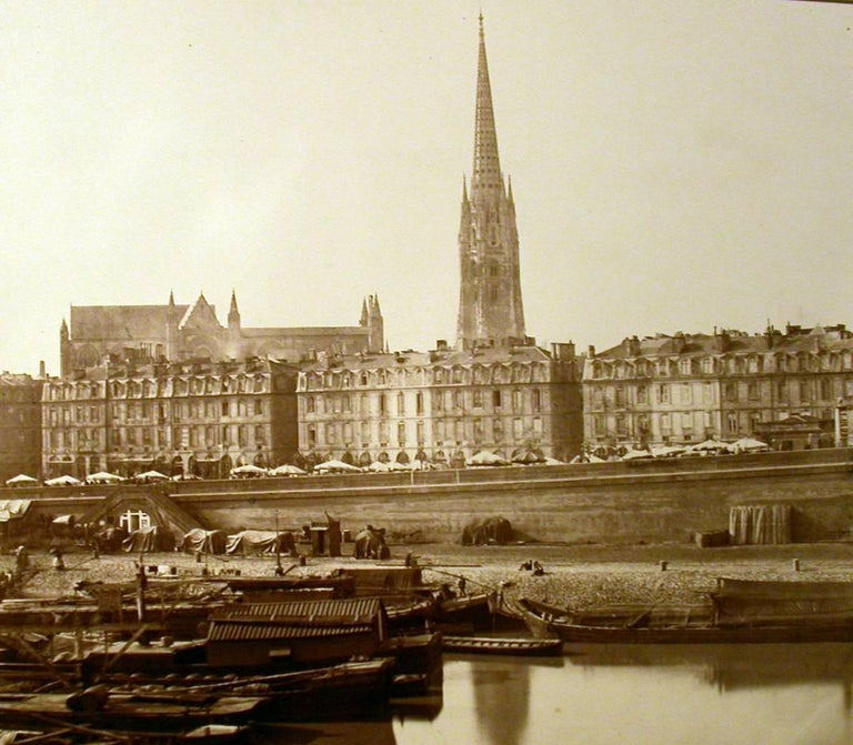 Bordeaux - Cathedral From The River