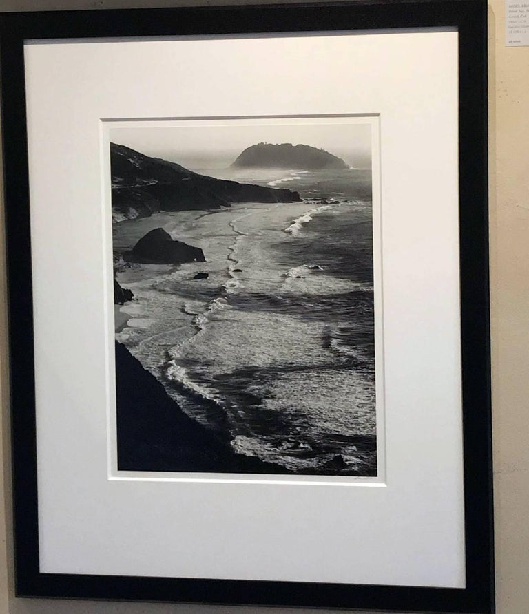 Point Sur, Storm, Monterey Coast, California  - Photograph by Ansel Adams