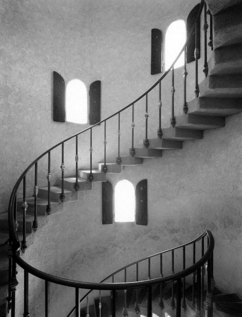 Mark Citret - Tower Stairs, Scotty's Castle 1