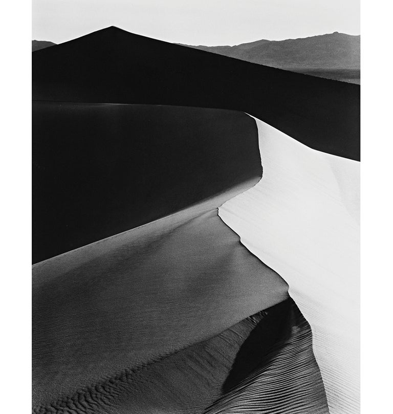 Ansel Adams Black and White Photograph - Sand Dunes, Sunrise, Death Valley