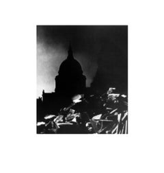 St. Paul's Cathedral in the Moonlight
