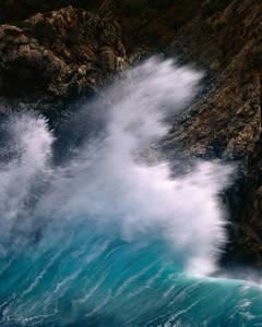 Big Sur, Crashing Wave, Study 236