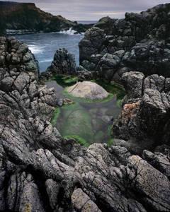 Green Tide Pool in Granite, Big Sur, CA