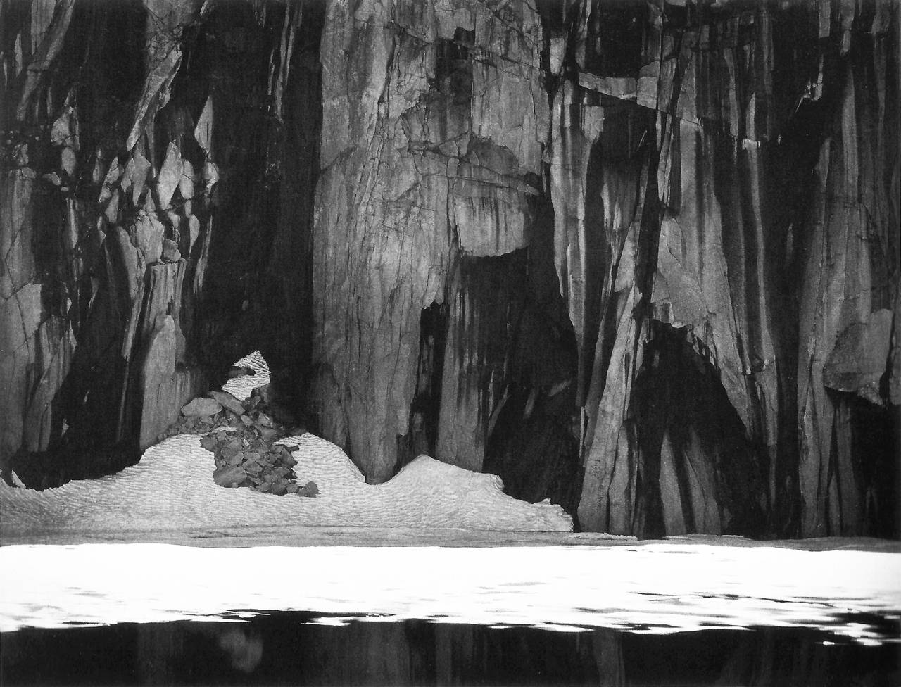Ansel Adams - Frozen Lake and Cliffs, Sierra Nevada, CA 1