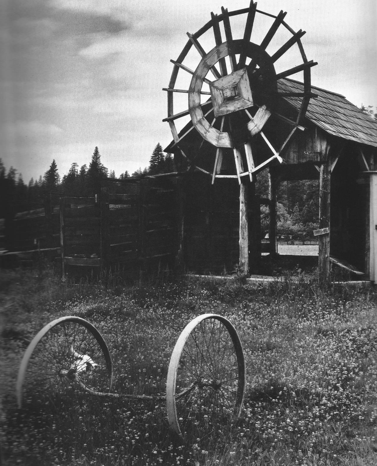 Edward Weston Black and White Photograph - Meyer's Ranch, Yosemite