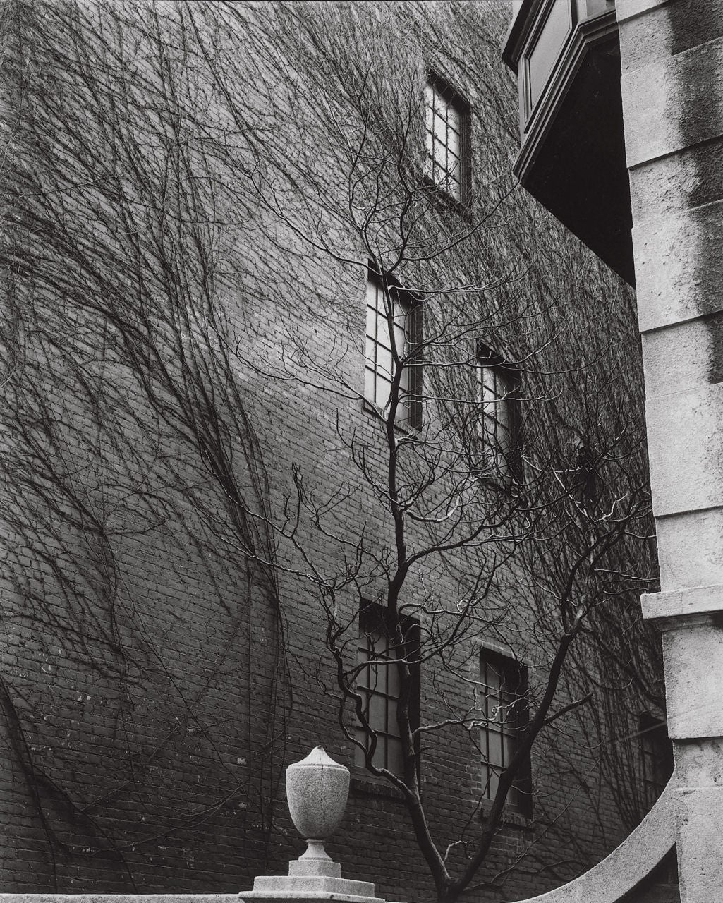 Brett Weston Black and White Photograph - Sutton Place, New York