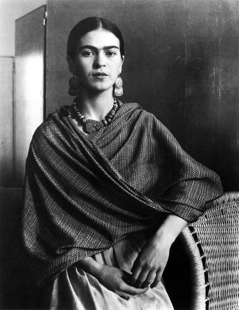 Imogen Cunningham Black and White Photograph - Frida Kahlo Rivera, Painter and Wife of Diego Rivera, 1931
