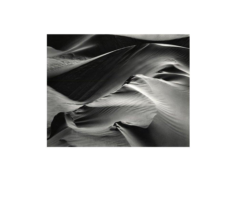 Brett Weston Black and White Photograph - Dunes, White Sands