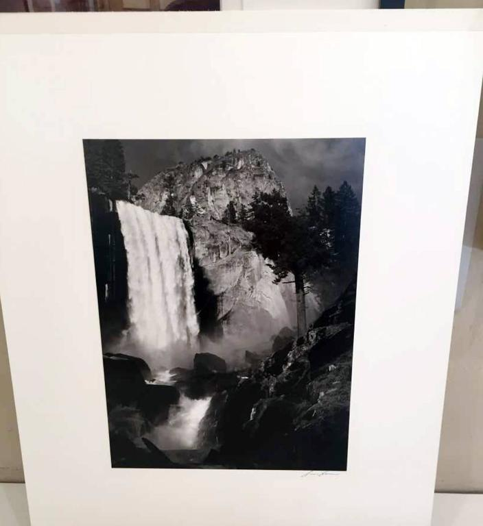 Vernal Fall - Photograph by Ansel Adams