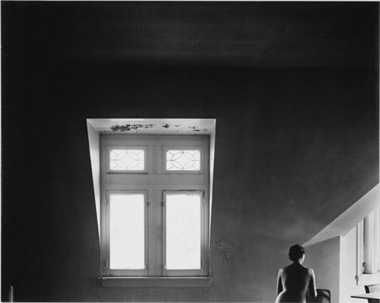 Harry Callahan Nude Photograph - Eleanor in Garret