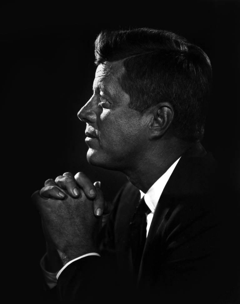 Yousuf Karsh Portrait Photograph - John F. Kennedy