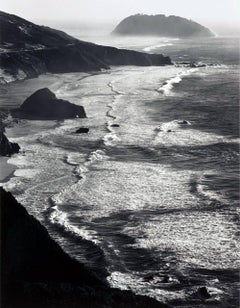 Point Sur, Storm, Monterey Coast, California
