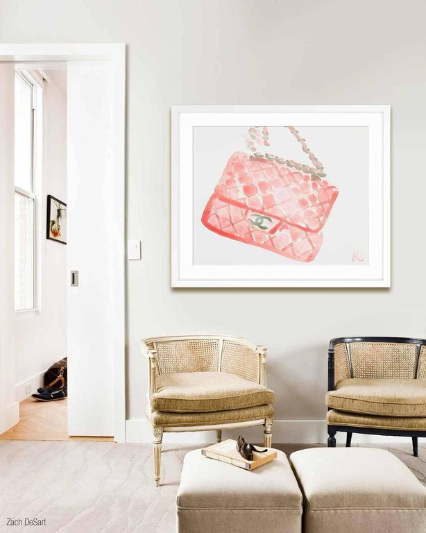 Chanel - Print by Kate Schelter