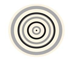 Black and Grey Circle