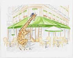 Giraffe's Paris Tea Time