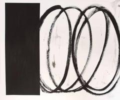 White and Black Swirls