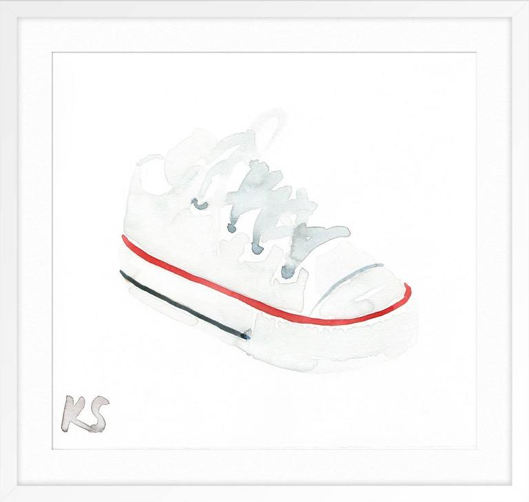 Classic Style Baby Converse Chuck Taylor -FRAMED IN WHITE