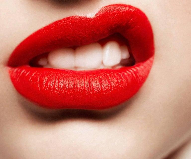 Laurence Laborie Figurative Photograph - Street Lips