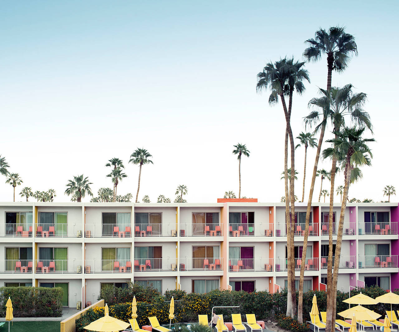 Ludwig Favre Palm Springs Hotel Print For Sale At 1stdibs