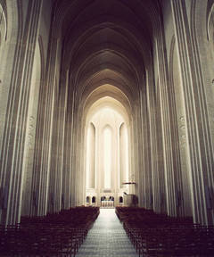 Grundtvigs Church: The Aisle