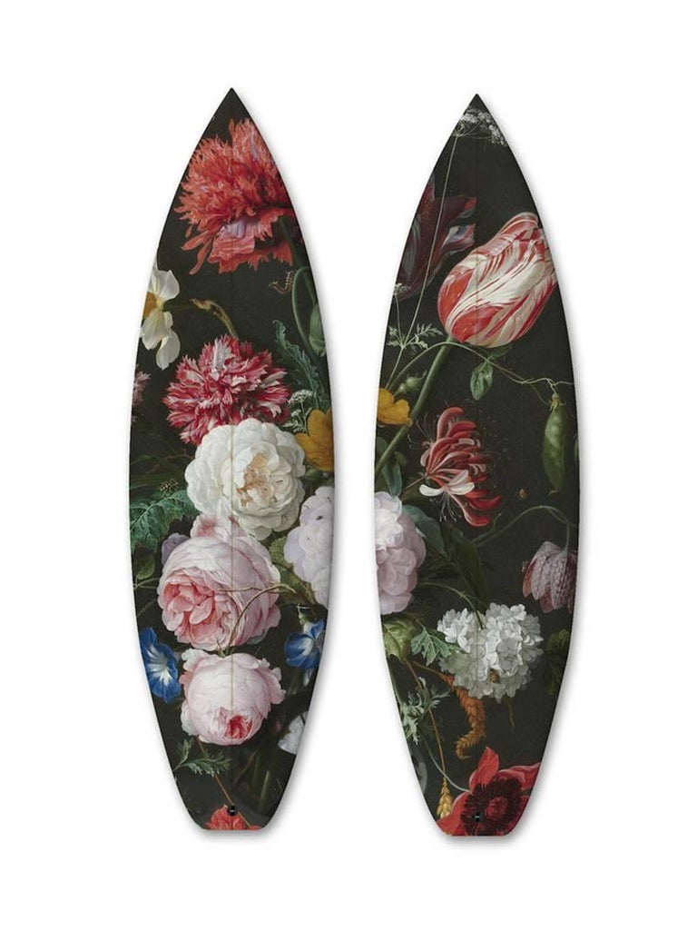 FLOWERS DIPTYCH / 2 SURFBOARDS