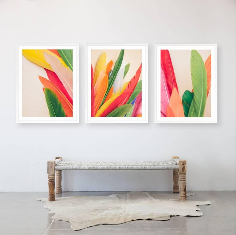 Feather or Not 8 - Print by Maria Piessis