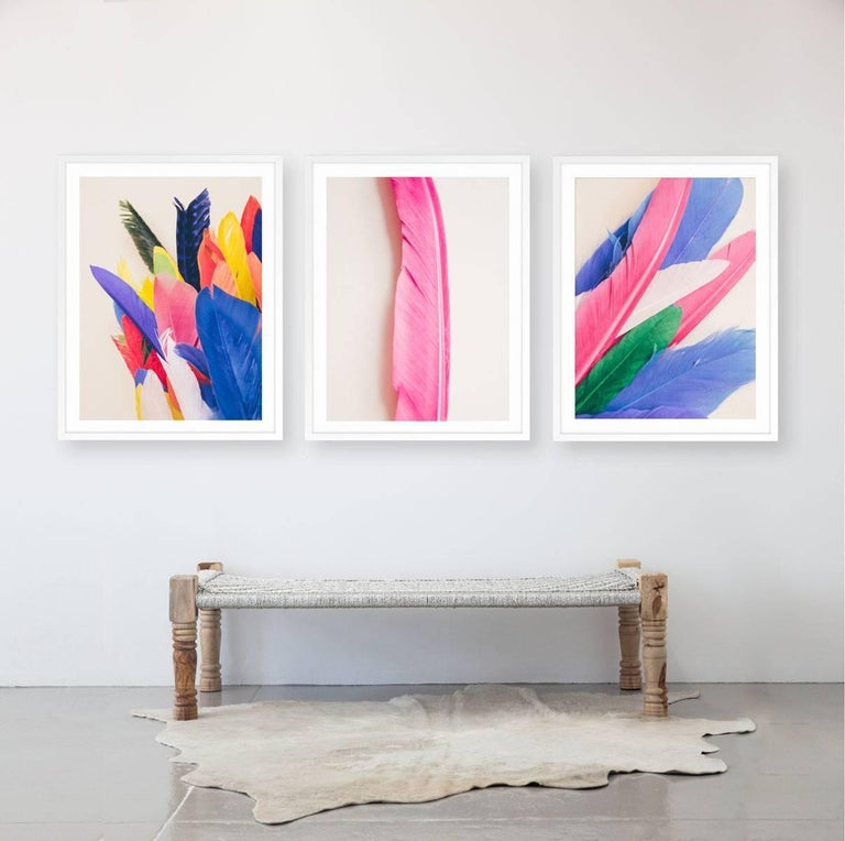 Feather or Not 10 - Print by Maria Piessis