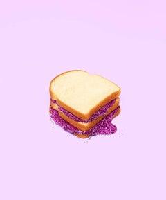 Glitter Sandwich Purple