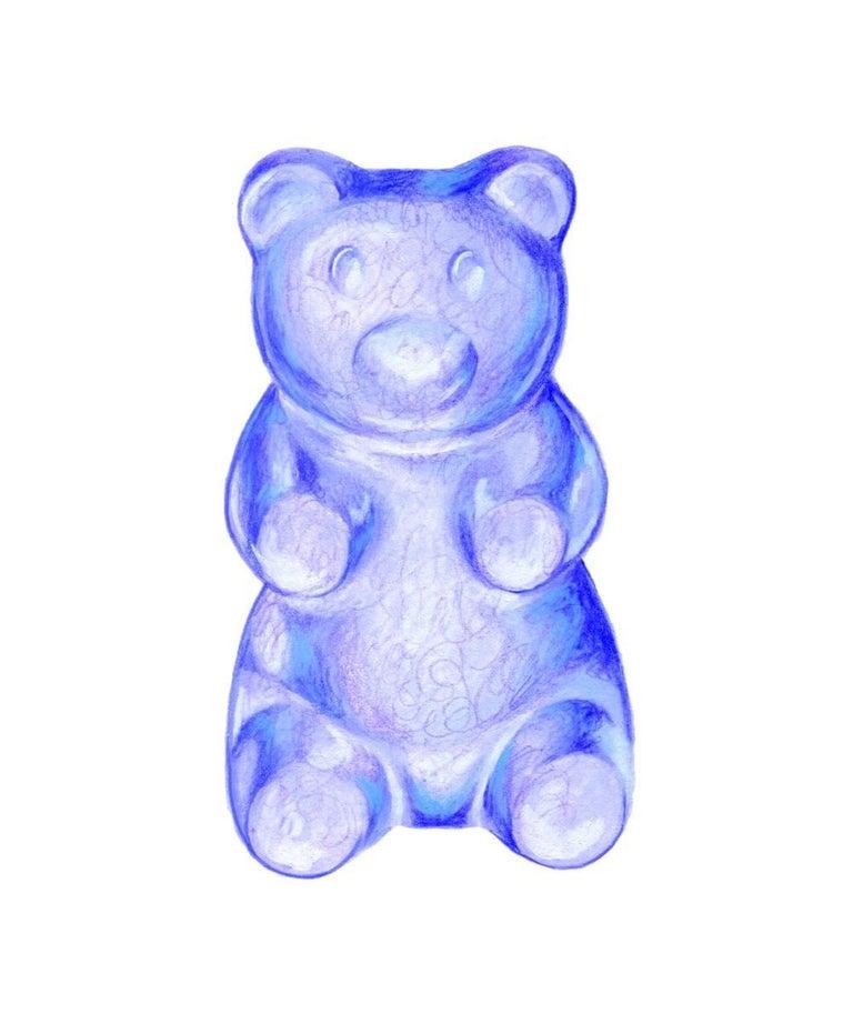 Kendyll Hillegas Gummy Bear Blue Print For Sale At 1stdibs