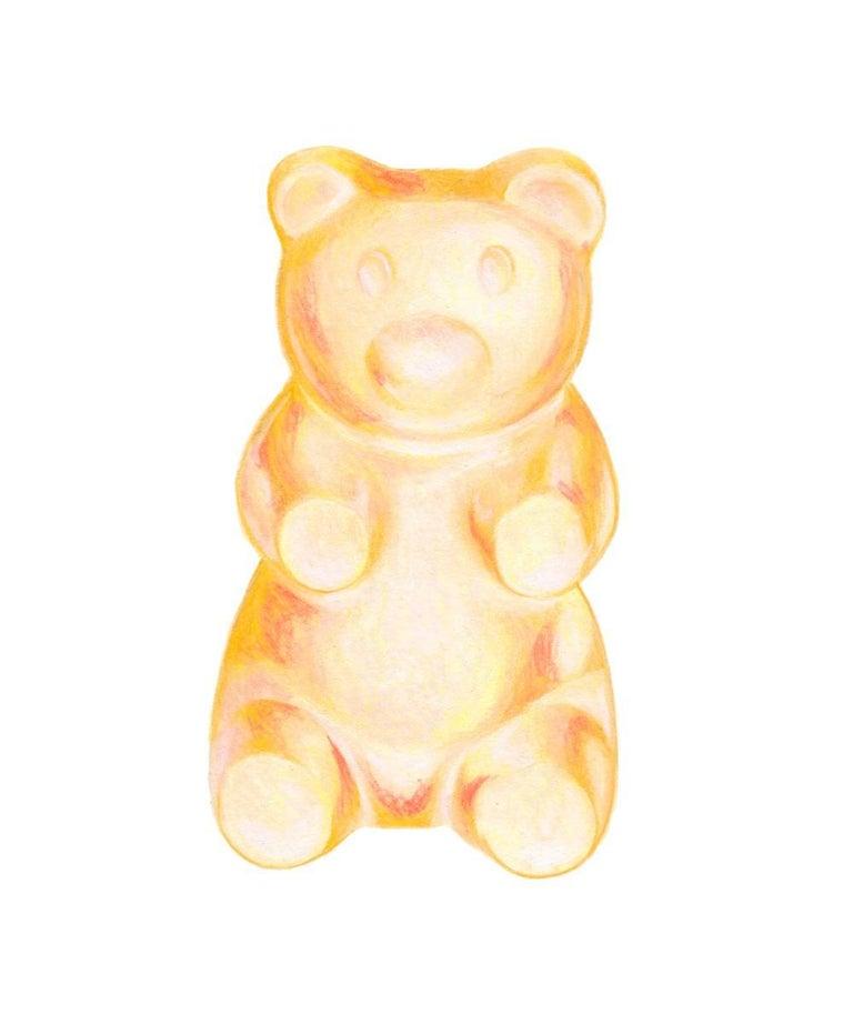 Kendyll Hillegas Animal Print - Gummy Bear Yellow