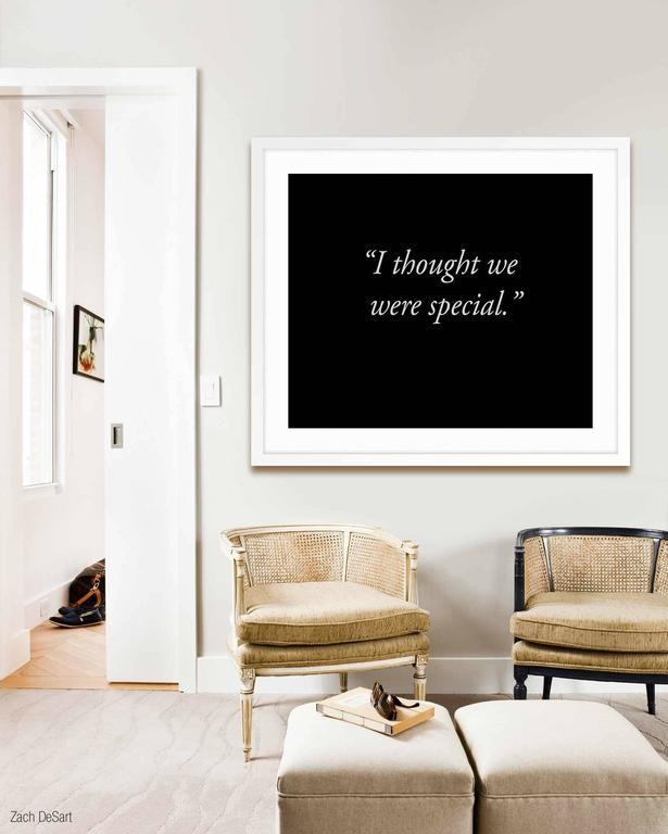 I Thought We Were Special - Print by Allison Wade