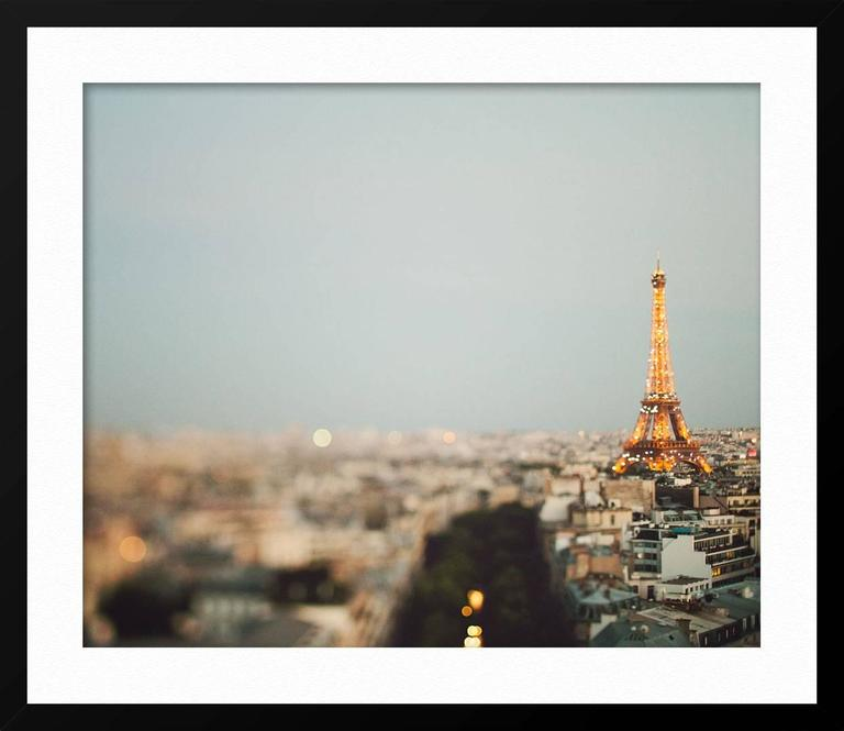 All prints are signed and numbered on a card of authenticity  The Eiffel Tower a ABOUT THIS PIECE: My photography combines my love of travel with a dream-like aesthetic. I approach each image as a visual poem that attempts to show iconic cities like