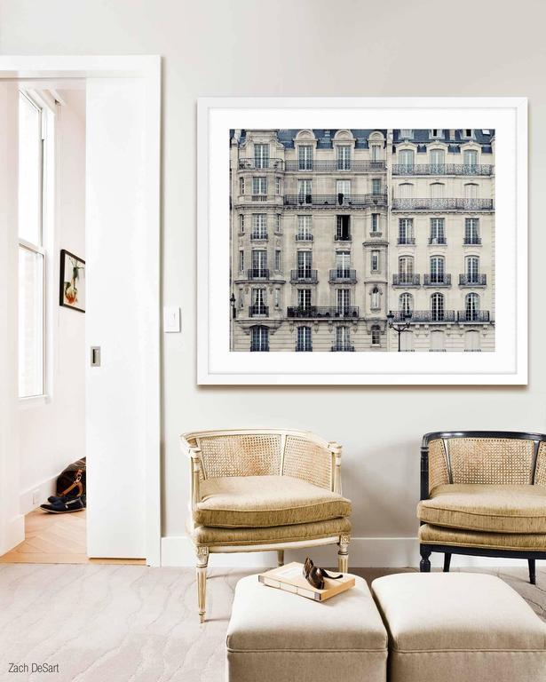 L'appart - Gray Landscape Print by Irene Suchocki