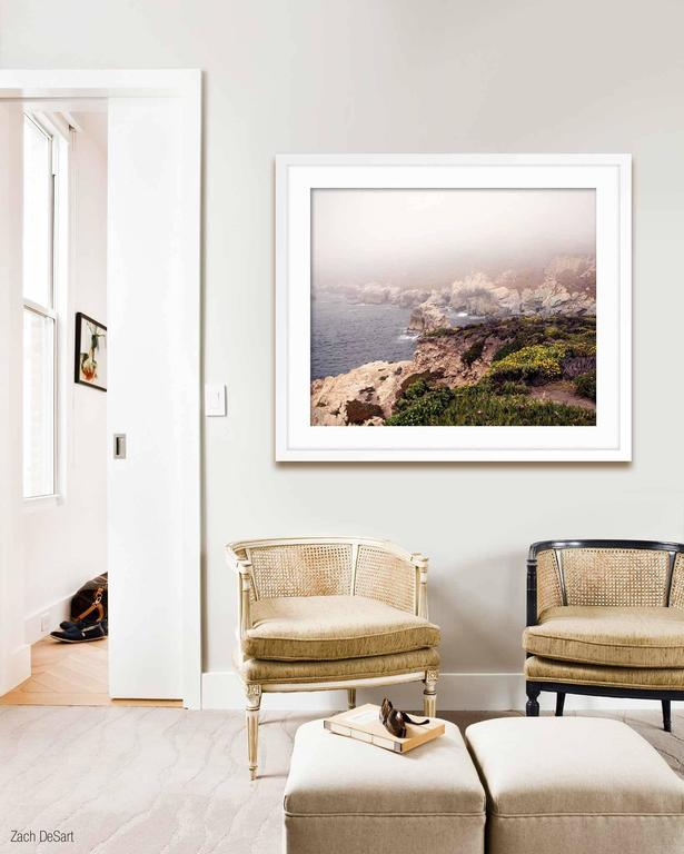 """ABOUT THIS PIECE: The series """"Big Sur"""" is part of my work on America. I traveled through the US in April and May of 2013 to explore the American Myth. The magic and beauty of Big Sur was breathtaking Markus Burke is a photographer fascinated by"""