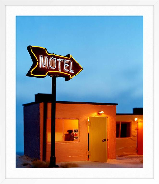 ABOUT THIS PIECE: The idea of motels and what they entail has always fascinated me. A temporary stop during a road trip, a place to do what you might not want to or can't do at home, motels have a constant flux of different characters moving in and