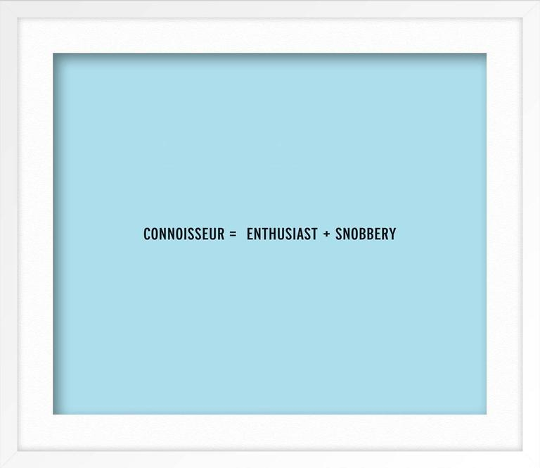 CONNOISSEUR For Sale 1