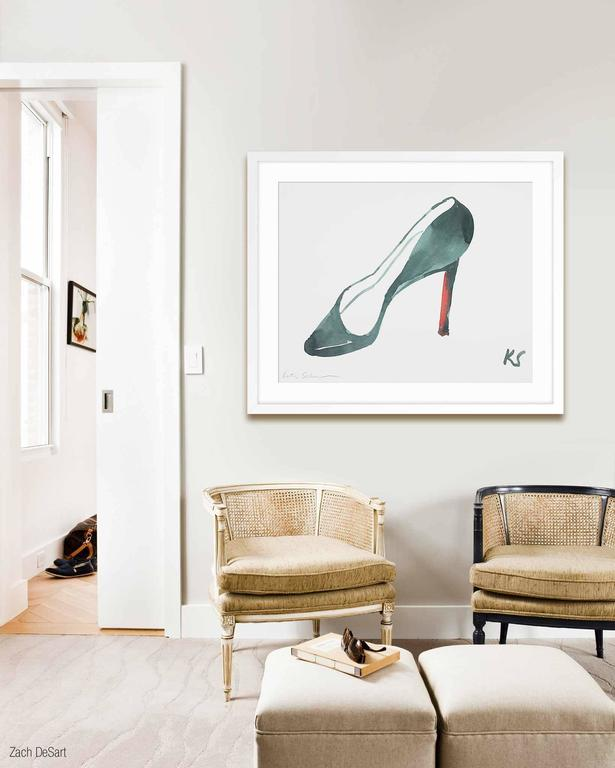Louboutin - Print by Kate Schelter