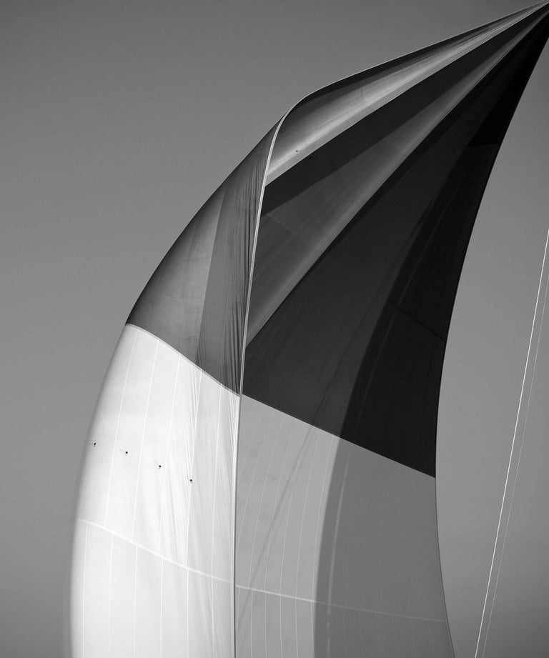 Jonathan Chritchley Print - SAILS XX; SPINNAKER OF THE VELSHEDA