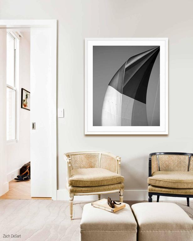 SAILS XX; SPINNAKER OF THE VELSHEDA - Print by Jonathan Chritchley