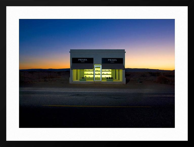 Faux-Prada Store on Highway 90, near Valentine, Texas. As a night photographer, I shoot almost exclusively by the light of the full moon. One of the things I enjoy most about photographing after dark are all the latent details, those things which