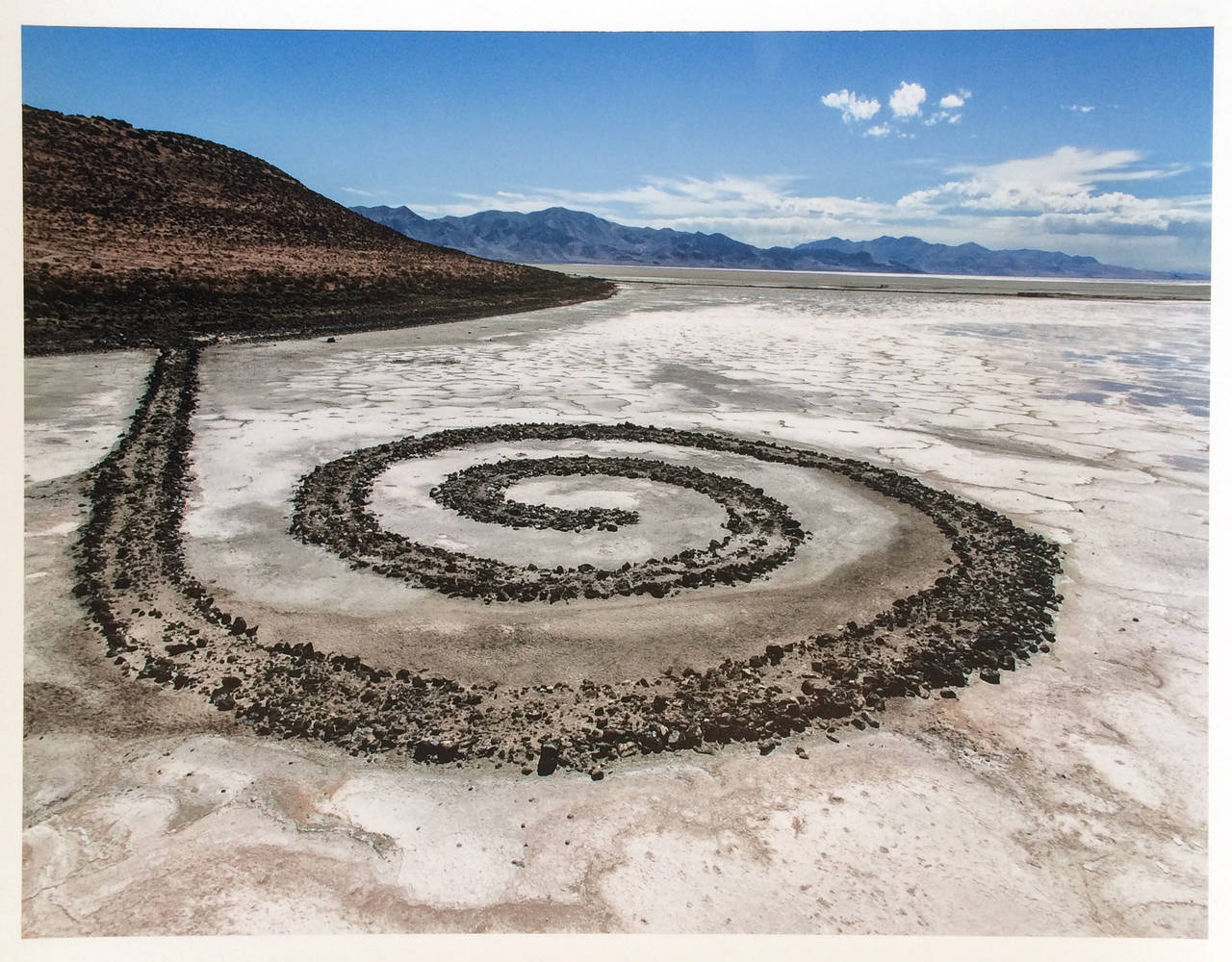 artwork in spiral jetty by robert smithson and vance by henry jackson ellicott