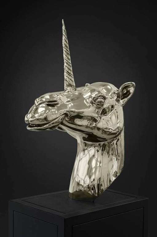 Camel-Unicorn Head 2