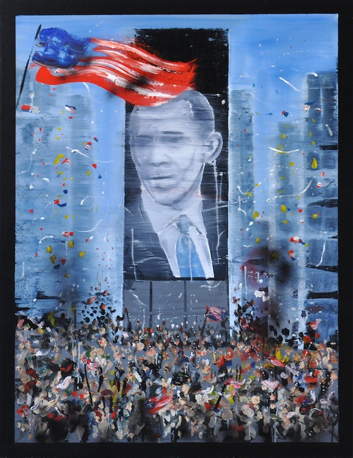 Stéphane Pencréac'h - November 4th 2008 - Obama 1