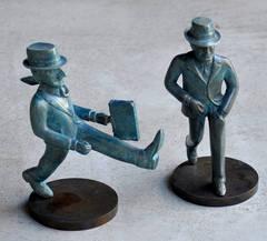El viajero & Compradito (Bronze)