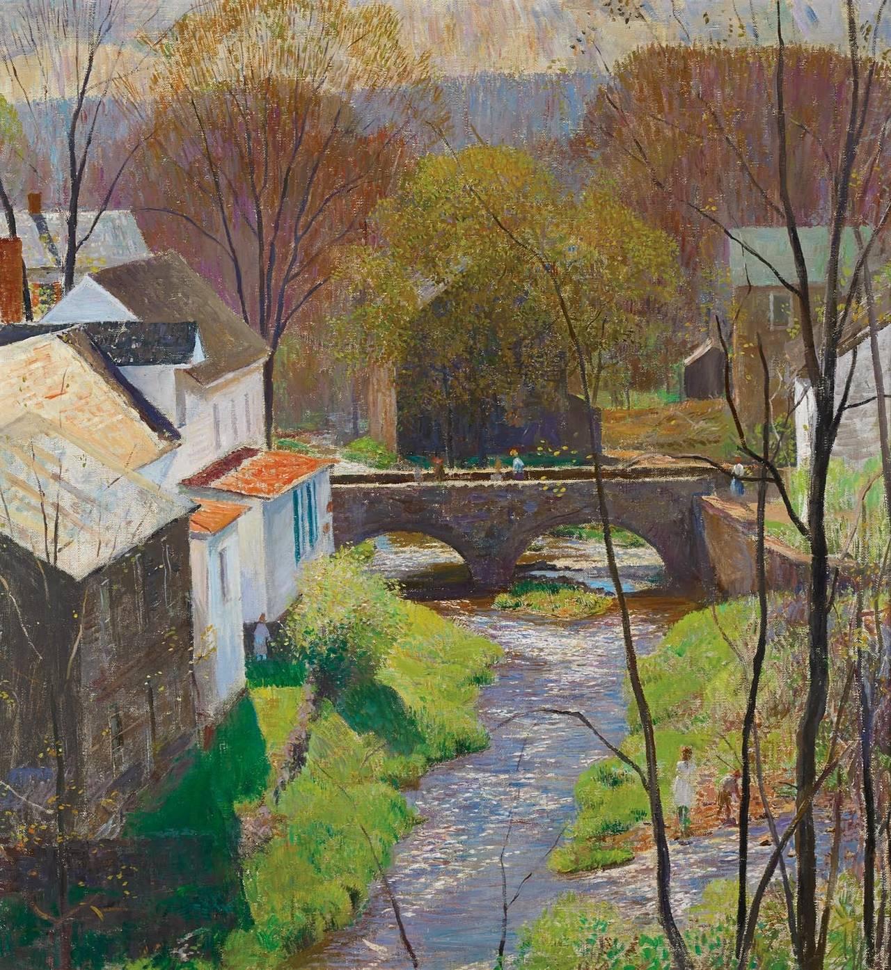 Daniel Garber Oil Painting